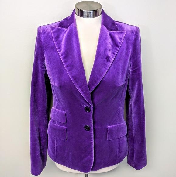 cortefiel Jackets & Blazers - Cortefiel Vintage Velvet Blazer